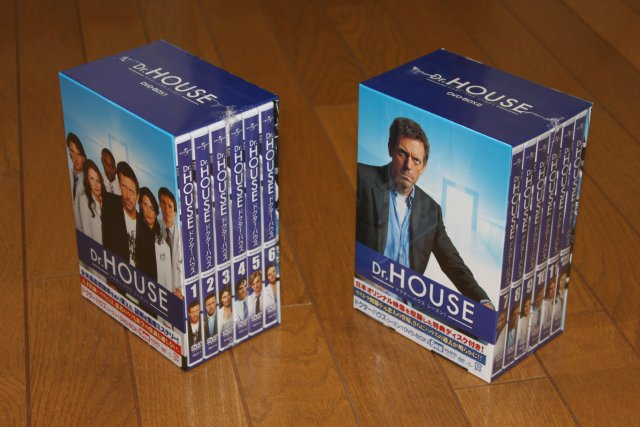 HOUSE DVD box!!